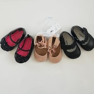 Bundle of Baby Shoes Size 2 (3-6 Months)